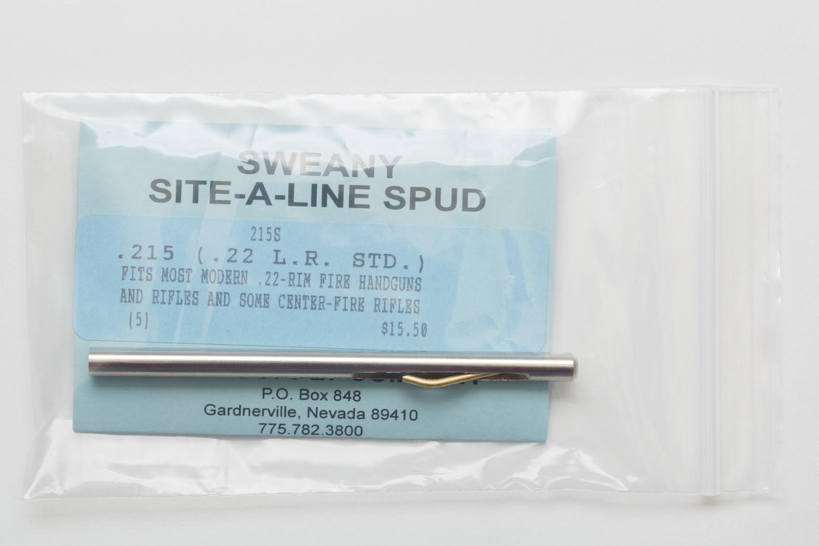 """215S .215"""" Spud, .22-Caliber Rim Fire"""