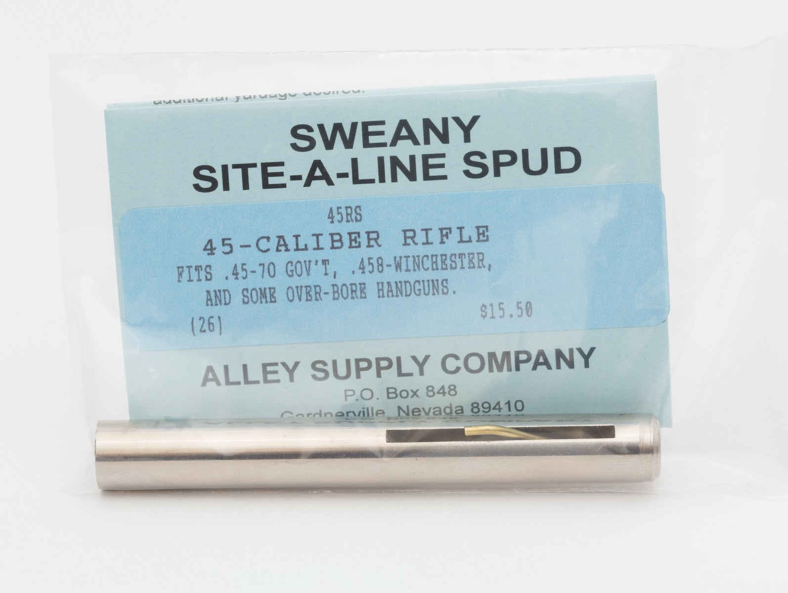 "45RS .449"" Spud, .45-Cal Rifle & 45-Cal Hawken"