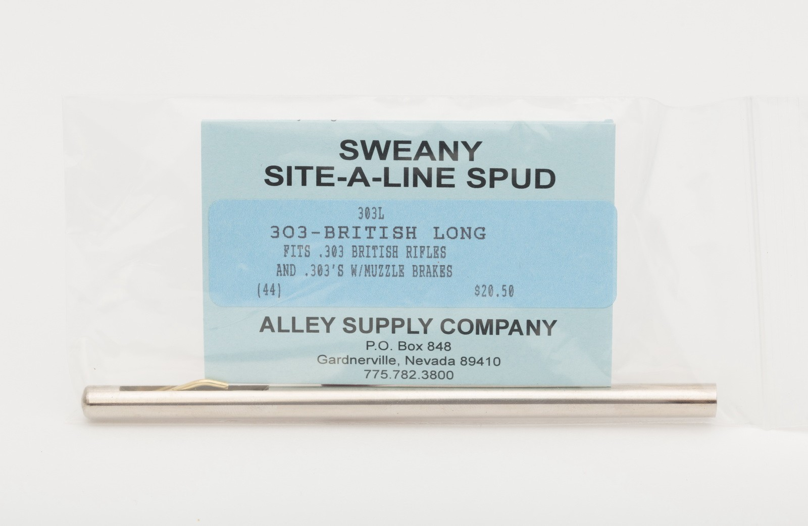 "303L .302"" Long Spud, .303-British"