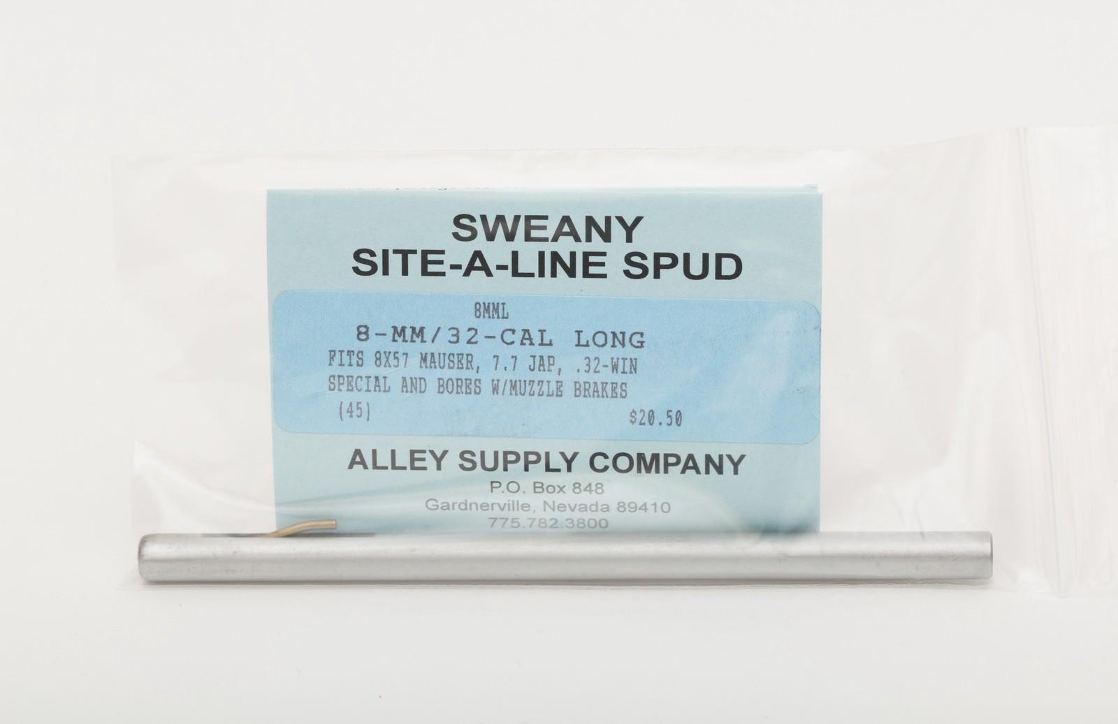 """8MML .310"""" Long Spud, 32-Caliber & 8mm Muster"""