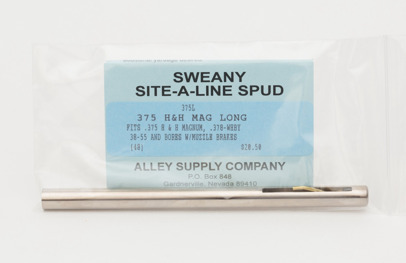 "375L .365"" Long Spud, .375H & H Mag., 378-Whby"