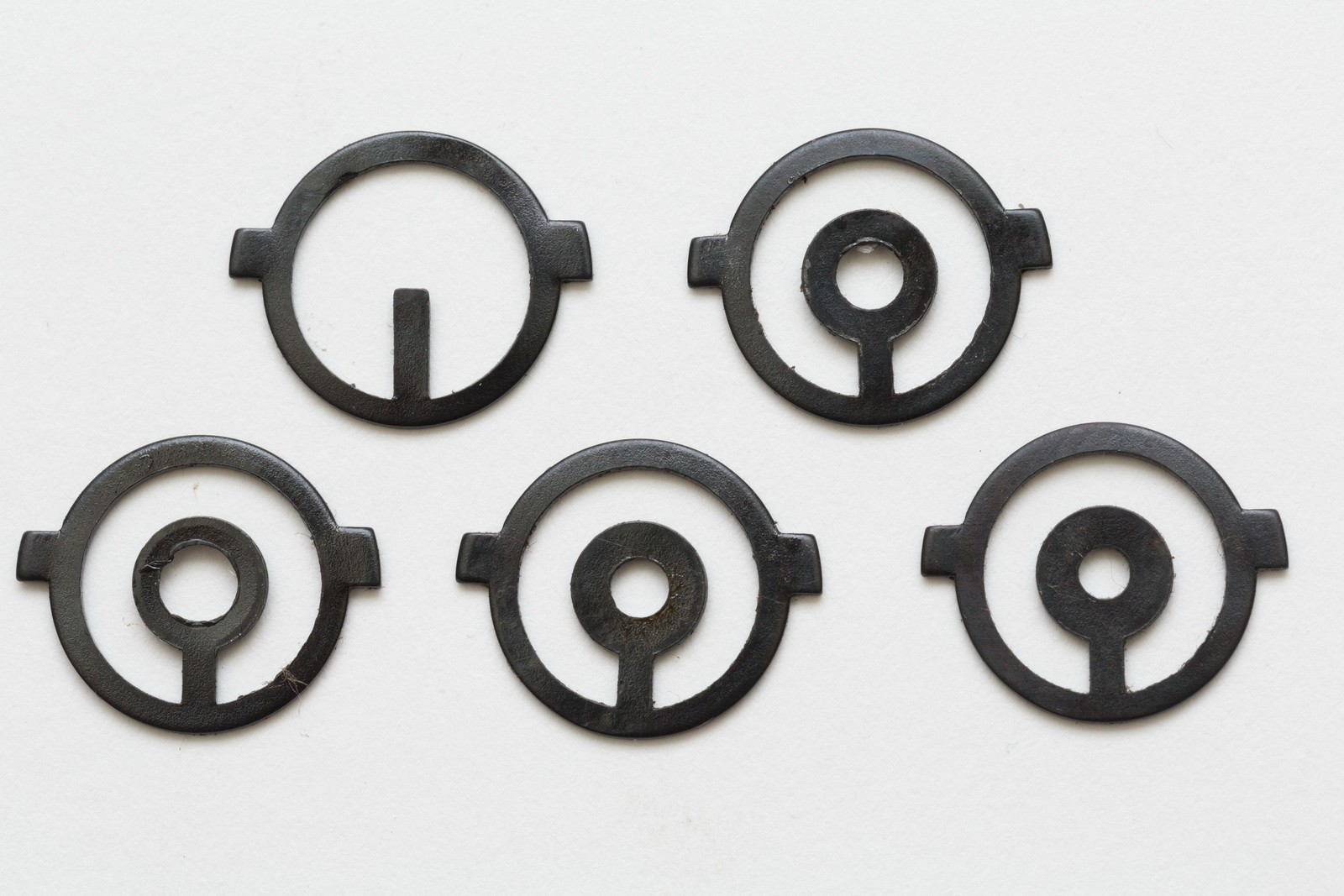 5 Steel Inserts for M1 Sights