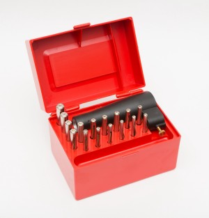 Sight-A-Line Gunsmith's kit with 16 spuds