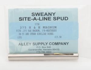 "375S .365"" Spud, .375 H & H Magnum, .378-Whby"