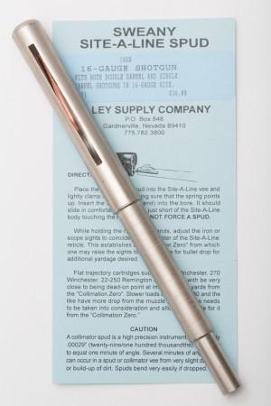 """16GA .621"""" Shotgun Spud. 16-Gauge"""
